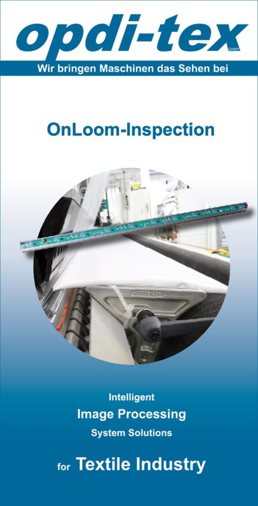 Flyer | OnLoom-Inspection by opdi-tex